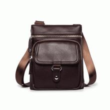Túi đeo chéo da thời trang D401 - nâu