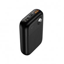 Pin sạc dự phòng 10000mAh tích hợp sạc nhanh QC3.0 + PDFast, màn hình hiển thị Digital Usams US-CD98 PB35 (màu đen)