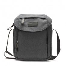 Túi đeo chéo vải bố thời trang 4U V309 - đen