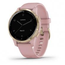 Đồng hồ thông minh Vivoactive 4S, GPS, Wi-Fi, Dust Rose - Light Gold, SEA