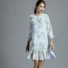 Đầm hoa Hity DRE104 (in hoa)
