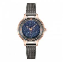 Đồng hồ nữ dây kim loại chính hãng Julius Hàn Quốc JA-1216C xám