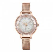 Đồng hồ nữ dây kim loại chính hãng Julius Hàn Quốc JA-1216B đồng