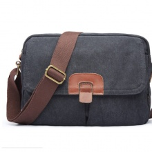Túi vải bố nam cá tính 4U VN309 - đen