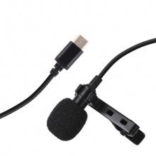 Bộ micro thu âm, livestream đầu Type C, dây 1.5m Aturos Puluz PU425