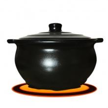 Nồi sứ nấu trên bếp từ 3 lít NodaCook (đen)