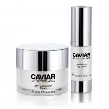 Bộ sản phẩm chống lão hóa Caviar of Switzerland dành cho vùng mắt và mặt