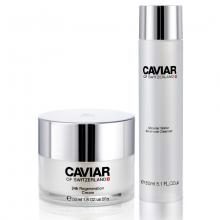 Bộ sản phẩm chống lão hóa Caviar of Switzerland cho da và nước thần làm sạch da