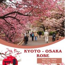 5N4Đ - Osaka - VN - Sakura