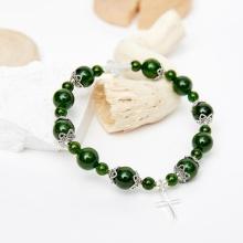 Vòng chuỗi Mân Côi Rosary Bracele đá diopside - Ngọc Quý Gemstones
