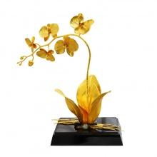 Hoa phong lan Phú Quý mạ vàng 24K