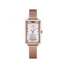 Đồng hồ nữ dây kim loại chính hãng Julius Hàn Quốc JA-1215A đồng