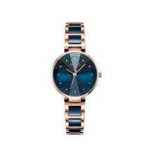 Đồng hồ nữ dây kim loại chính hãng Julius Hàn Quốc JA-1209C xanh