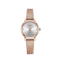 Đồng hồ nữ Hàn Quốc js-045a kính saphire đồng