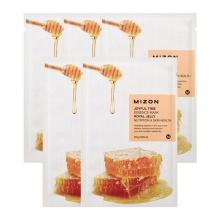 Set 5 miếng mặt nạ dưỡng da tinh chất sữa ong chúa Mizon Joyful Time Essence Mask - ROYAL JELLY