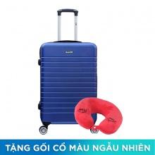 Vali kéo Trip PC911 size 60cm 24 inch xanh dương (tặng gối cổ)