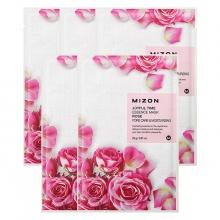 Set 5 miếng mặt nạ dưỡng da tinh chất hoa hồng Mizon Joyful Time Essence Mask - ROSE