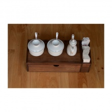 Hộp đựng đũa muỗng thìa bằng gỗ nhà hàng, quán ăn Nhatvywood NV5321