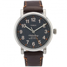Đồng hồ Timex nam Waterbury 40mm Leather Strap Watch TW2P58700