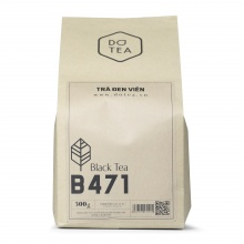 Trà đen viên gói b471 Dotea 500g - chát đặc ngọt hậu hương thơm nồng đượm
