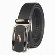 Thắt lưng nam da voi cao cấp Manzo TLV90 - dây nịt nam khóa tự động - BH 1 năm, tặng móc khóa