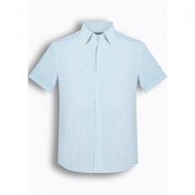 Áo sơ mi nam tay ngắn họa tiết The Shirts Studio Hàn Quốc TD42F2178BL - 95