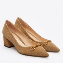 Giày cao gót Pazzion 023-3 - KHAKI