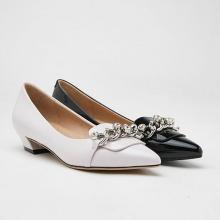 Giày gót thấp Pazzion 0533-1 - BLACK