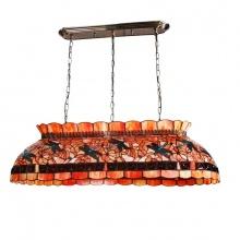 Đèn thả trang trí Tiffany chuồn chuồn phong cách tân cổ điển dài 105cm