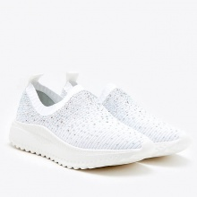 Giày slip on Pazzion 108-1A - WHITE