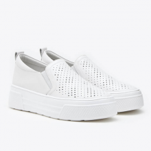 Giày slip on Pazzion 155-26 - WHITE
