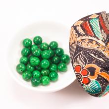 Combo 5 viên đá cẩm thạch sơn thủy 14mm - Ngọc Quý Gemstones
