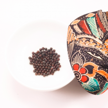Combo 10 viên đá garnet (ngọc hồng lựu) 4mm - Ngọc Quý Gemstones