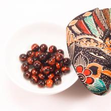 Combo 5 viên đá mắt hổ nâu đỏ 10mm - Ngọc Quý Gemstones