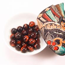Đá mắt hổ nâu đỏ 14mm - Ngọc Quý Gemstones