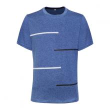 Áo thun nam cổ tròn thời trang cao cấp Bonado màu xanh dương - BND1926