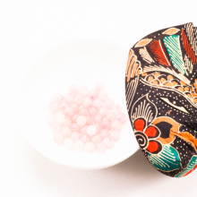 Combo 5 viên đá thạch anh hồng 10mm - Ngọc Quý Gemstones