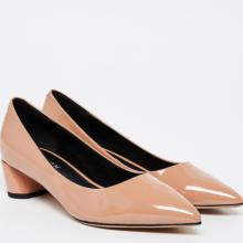 Giày gót thấp Pazzion 1809-1 - NUDE