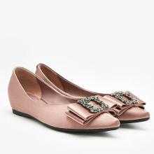 Giày gót thấp Pazzion 1819-1A - TAUPLE