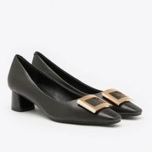 Giày gót thấp Pazzion 1902-3 - BLACK