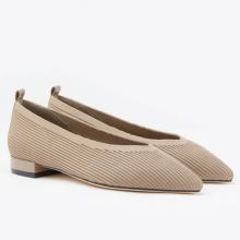 Giày gót thấp Pazzion 19A56-1 - ALMOND
