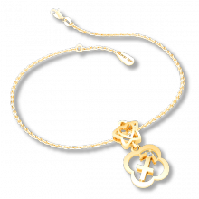 Mặt charm cung hoàng đạo Nhân Mã vàng 14K DOJI 0120P-LAL356-YG (không bao gồm dây)