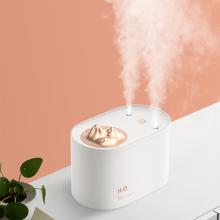 Bản cắm USB máy phun sương, tạo ẩm, cấp ẩm không khí và tỏa hương tinh dầu không dây 2 cổng phun Jisulife JS05