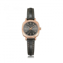 Đồng hồ nữ ja-1056d Julius Hàn Quốc dây da (xám)