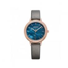 Đồng hồ nữ dây da chính hãng Julius Hàn Quốc ja-1036e xám