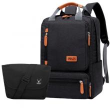 Bộ balo học sinh sinh viên có ngăn đựng laptop và túi đeo chéo ipad Praza - BL182DC119