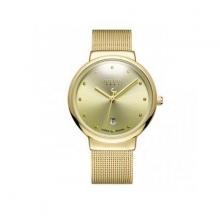 Đồng hồ nam ja-426ma JU1052 Julius Hàn Quốc dây thép (vàng)