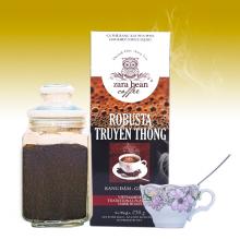 Cà phê pha phin Robusta truyền thống hộp 250g