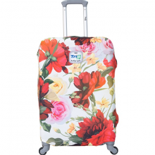 Túi bọc vali vải thun 4 chiều Trip Red Spring size M