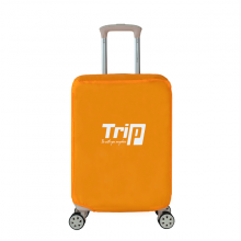Áo trùm vali Trip vải dù chống thấm nước size L màu cam
